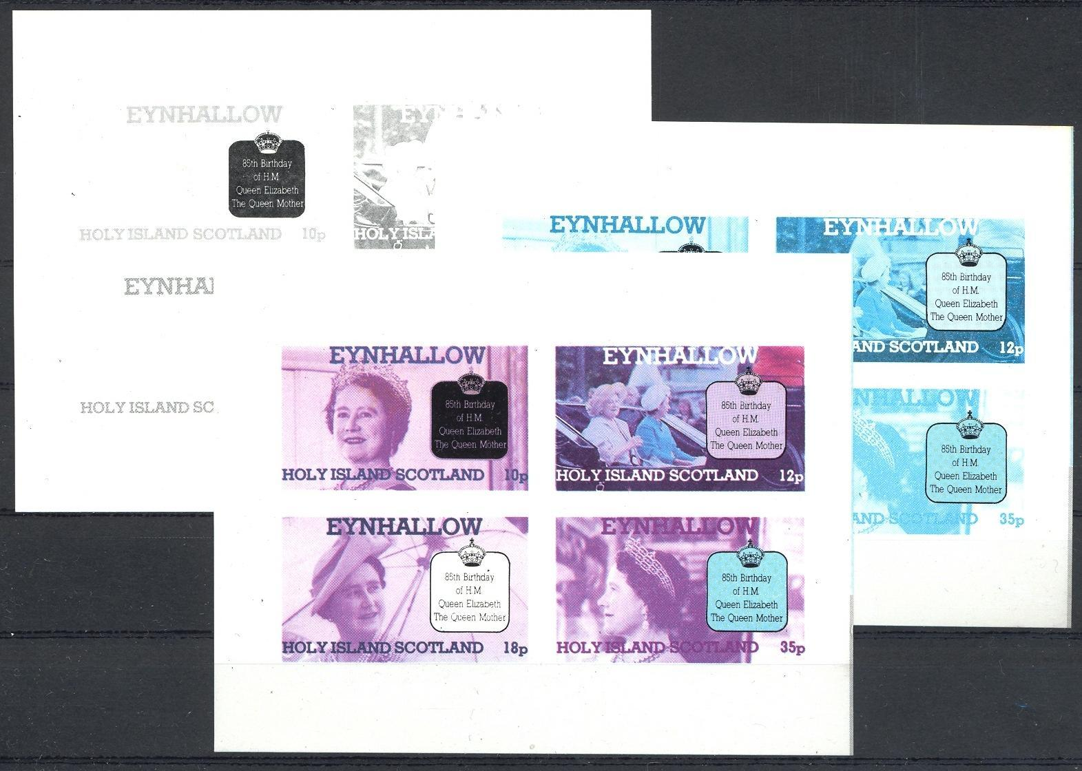 Stamps with Royalty from Eynhallow (non official) (image for product #035884)