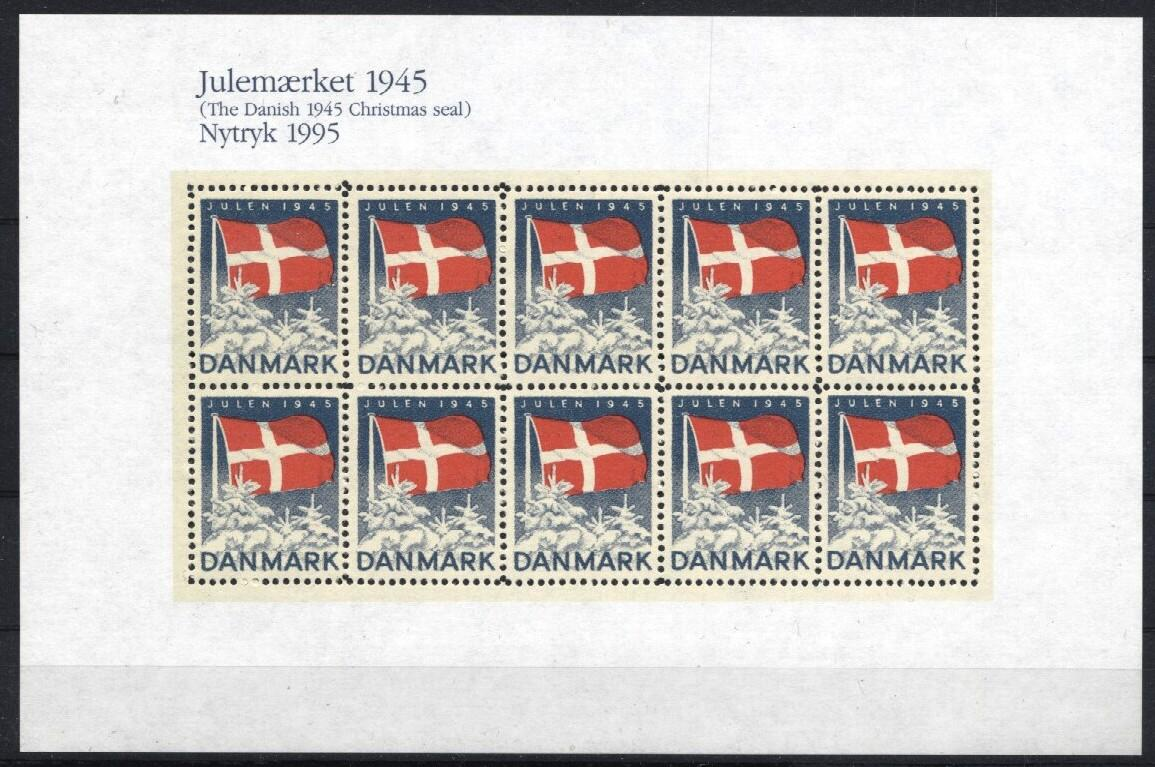 Stamps with Christmas from Denmark (image for product #035990)