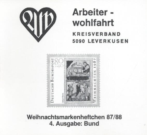 Stamps with Christmas, Booklet, Professions from Germany (image for product #036083)