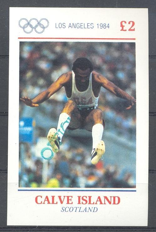 Stamps with Olympic Games, Athletics, History from  (image for product #036332)