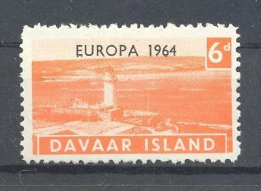 Stamps with Europe, Lighthouse from Davaar (non official) (image for product #036368)