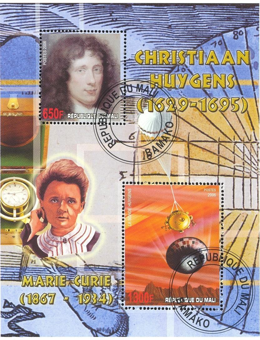 Stamps with Space, Curie (Marie) from Mali (image for product #036801)