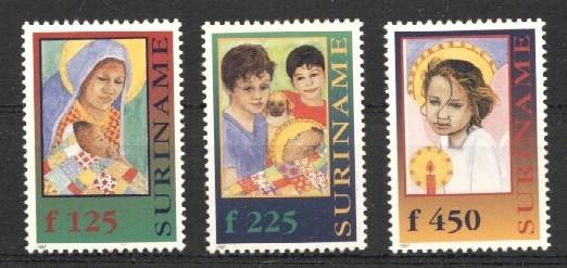 Stamps with Children from Suriname (image for product #037261)