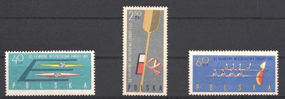 Stamps with Rowing from Poland (image for product #037476)