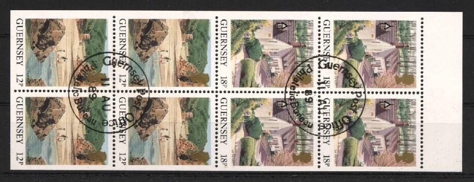 Stamps with Booklet / Pane, Sights from Guernsey (image for product #037508)