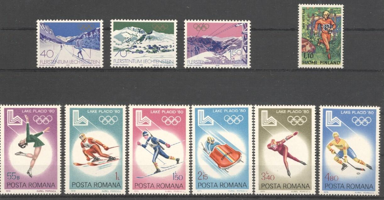Stamps with Olympic Games from World (image for product #037708)