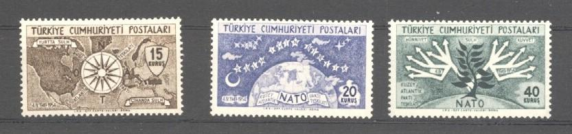Stamps with NATO from Turkey (image for product #038097)