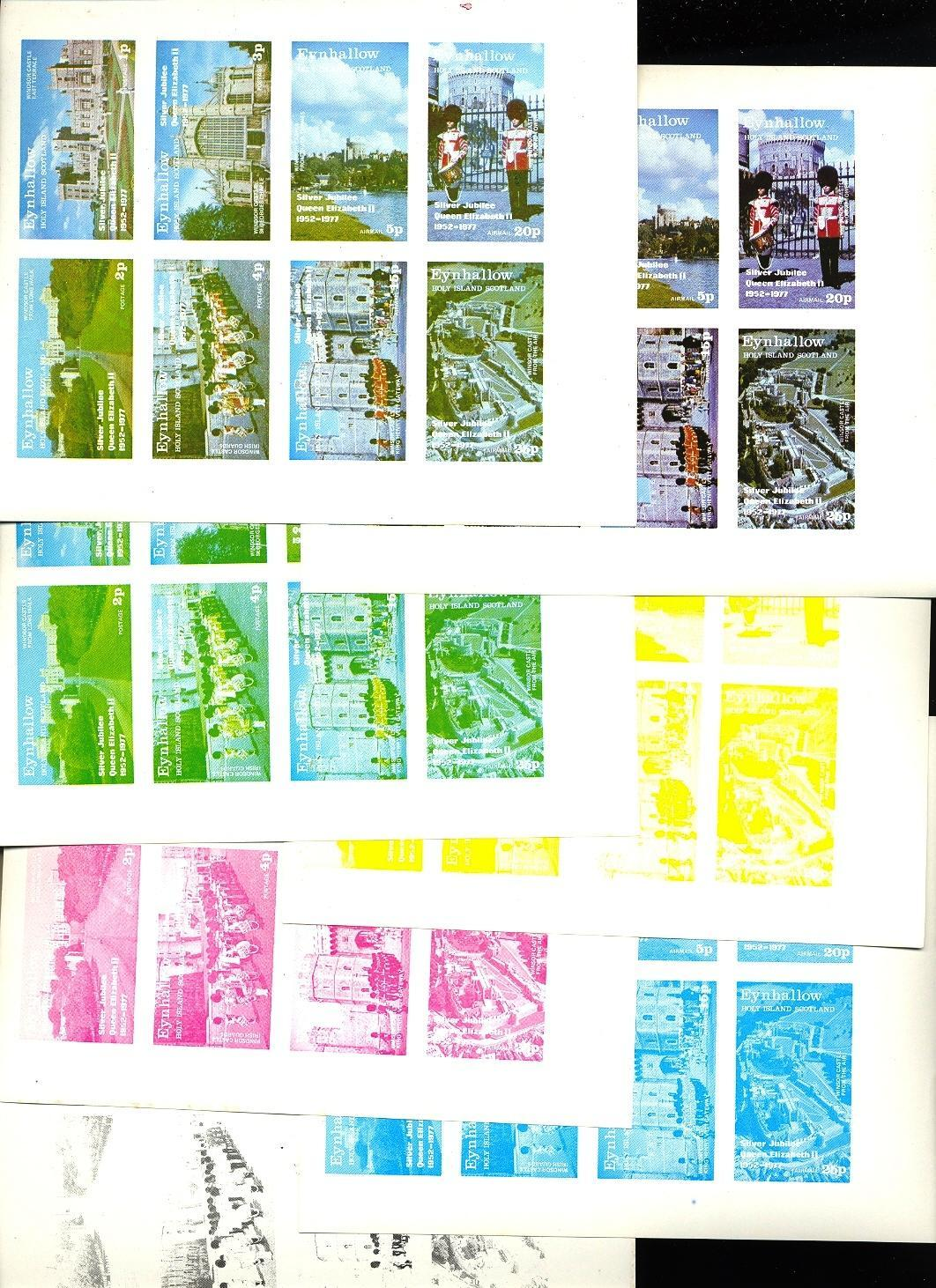 Stamps with Uniform, Castles from Eynhallow (non official) (image for product #038124)