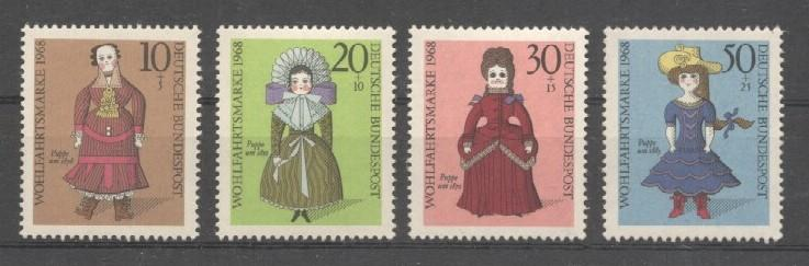 Stamps with Doll from Germany (image for product #038244)
