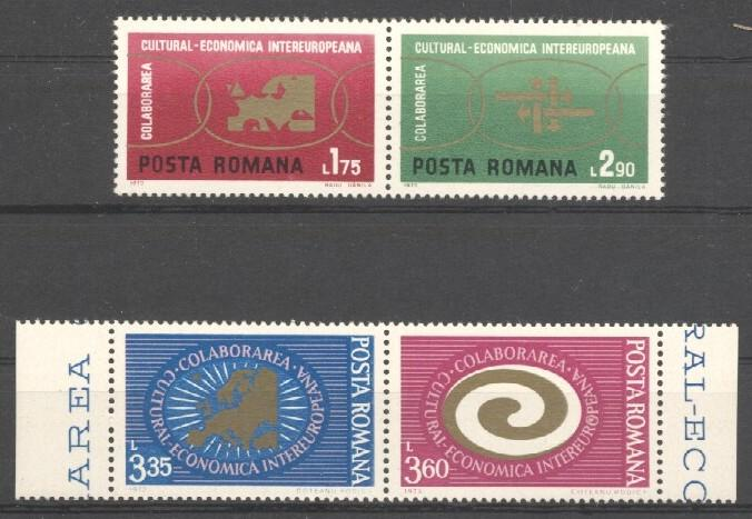 Stamps with Europe from Romania (image for product #038278)