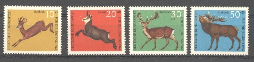Stamps with Deer from Germany (image for product #038298)