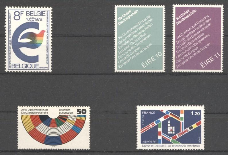 Stamps with Europe, Election, Government from World (image for product #038302)