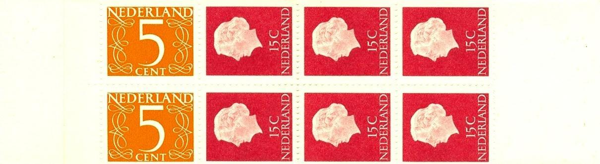 Stamps with Booklet, Definitive Issue from Netherlands (image for product #038323)