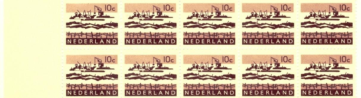 Stamps with Booklet, Definitive Issue from Netherlands (image for product #038326)