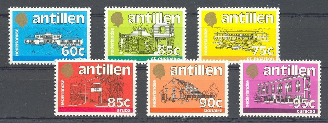 Stamps with Sights, Buildings from Switzerland (image for product #038365)