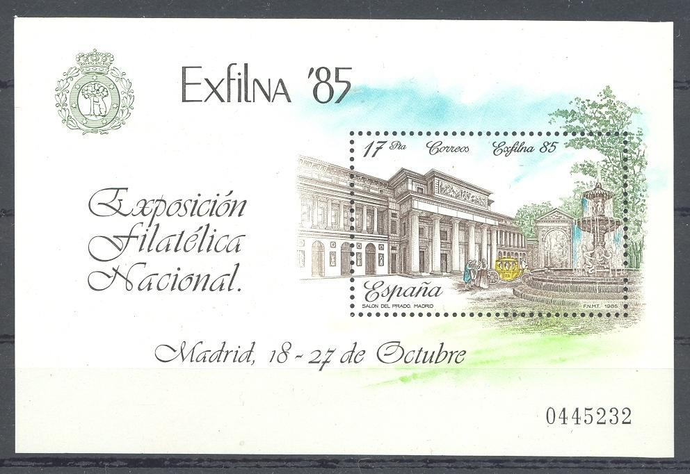 Stamps with Philatelic Exhibition, Buildings from Spain (image for product #038372)