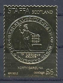 Stamps with Seal from Staffa (non official) (image for product #038539)