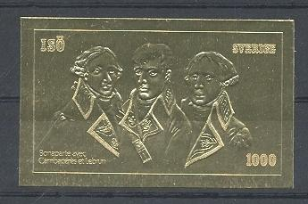 Stamps with Napoleon from  (image for product #038621)