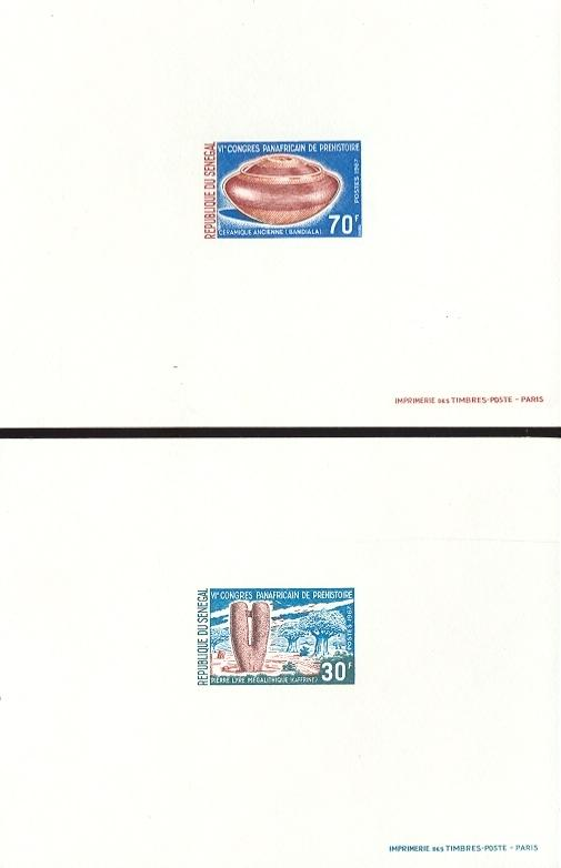 Stamps with Archaeology, Prehistory from Senegal (image for product #038688)