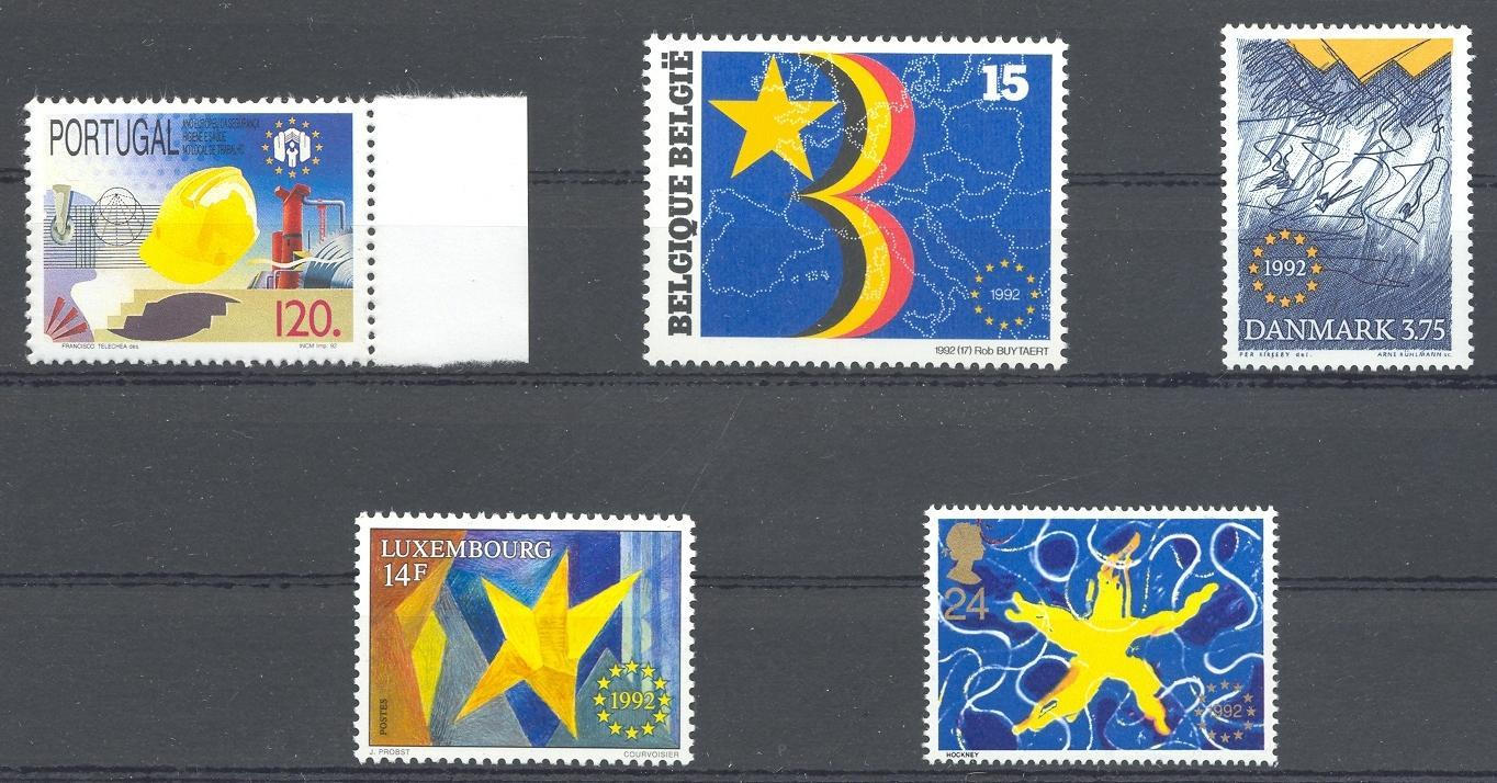 Stamps with Europe from World (image for product #039183)