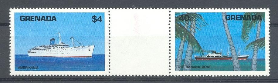 Stamps with Ship from Grenada (image for product #043145)