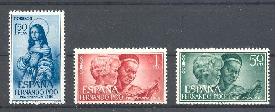 Stamps with Children from Spain (image for product #044558)