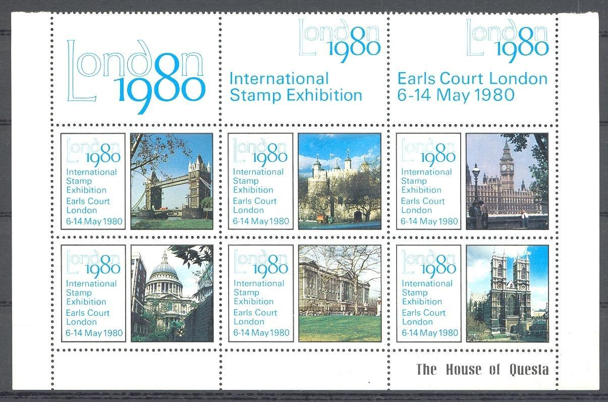Stamps with Architecture from United Kingdom (image for product #047909)
