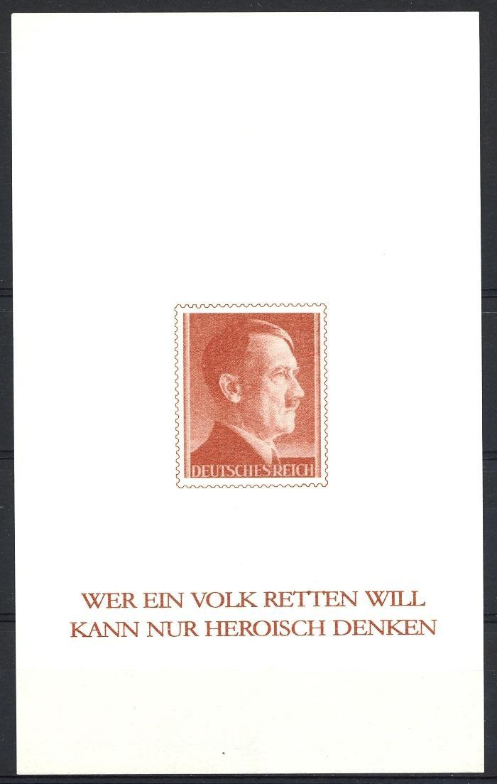 Stamps with Hitler, World War II from Germany (Reich) (image for product #051916)