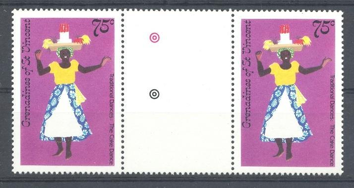 Stamps with Dance, Folklore / Fables from St. Vincent (image for product #052558)