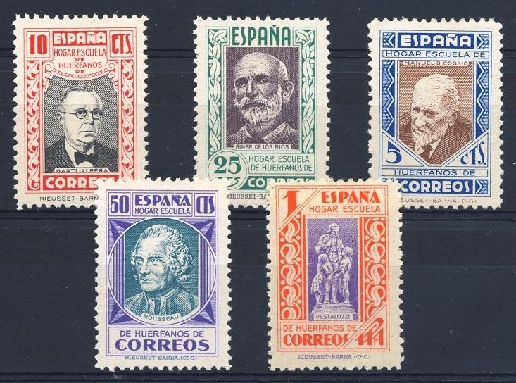Stamps with Children from Spain (image for product #055246)
