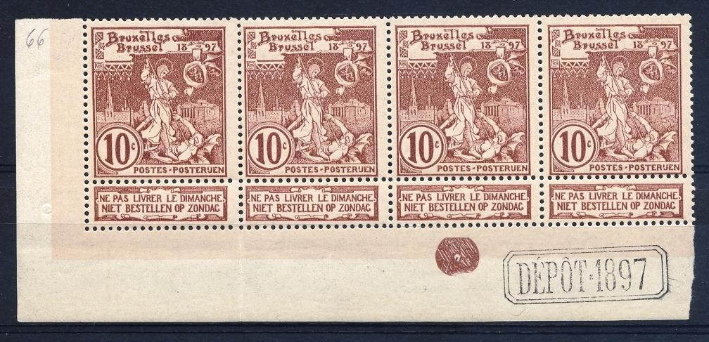 Stamps with Coat of Arms, Classical from Belgium (image for product #055412)