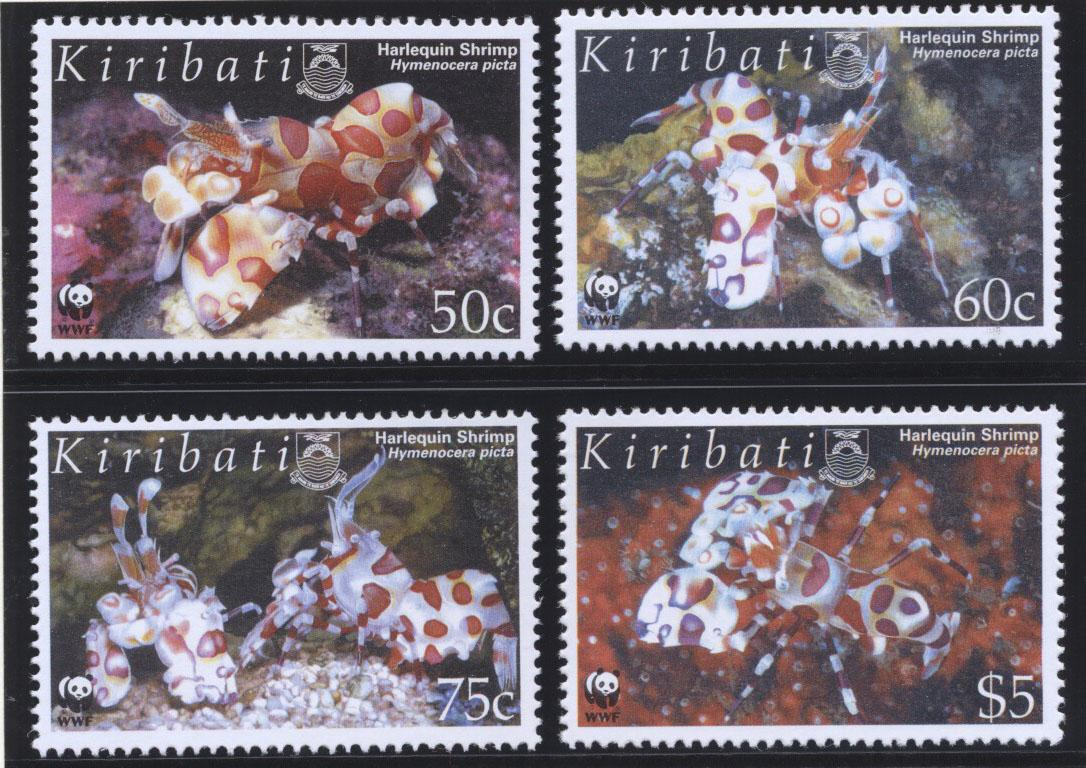 Stamps with Fish, WWF from Kiribati (image for product #182295)