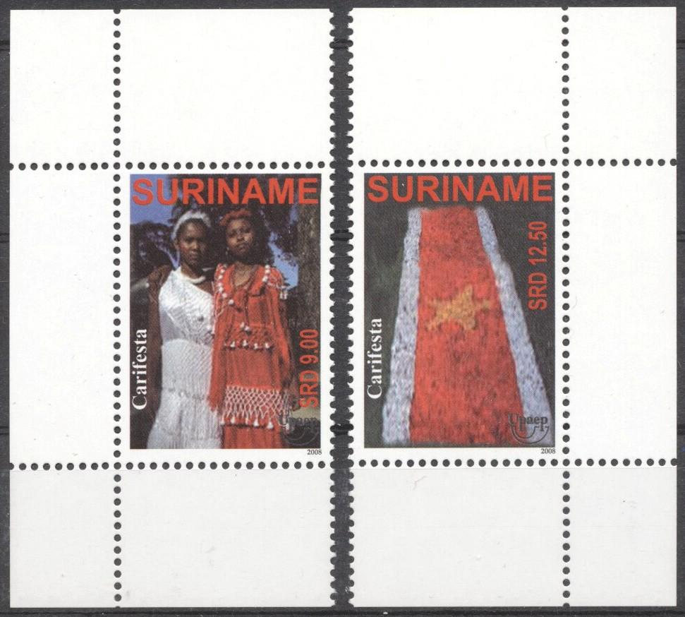 Stamps with Flag, Clothing / Fashion from Suriname (image for product #194585)