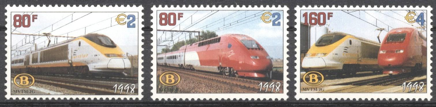 Stamps with Train / Railway from Belgium (image for product #195035)