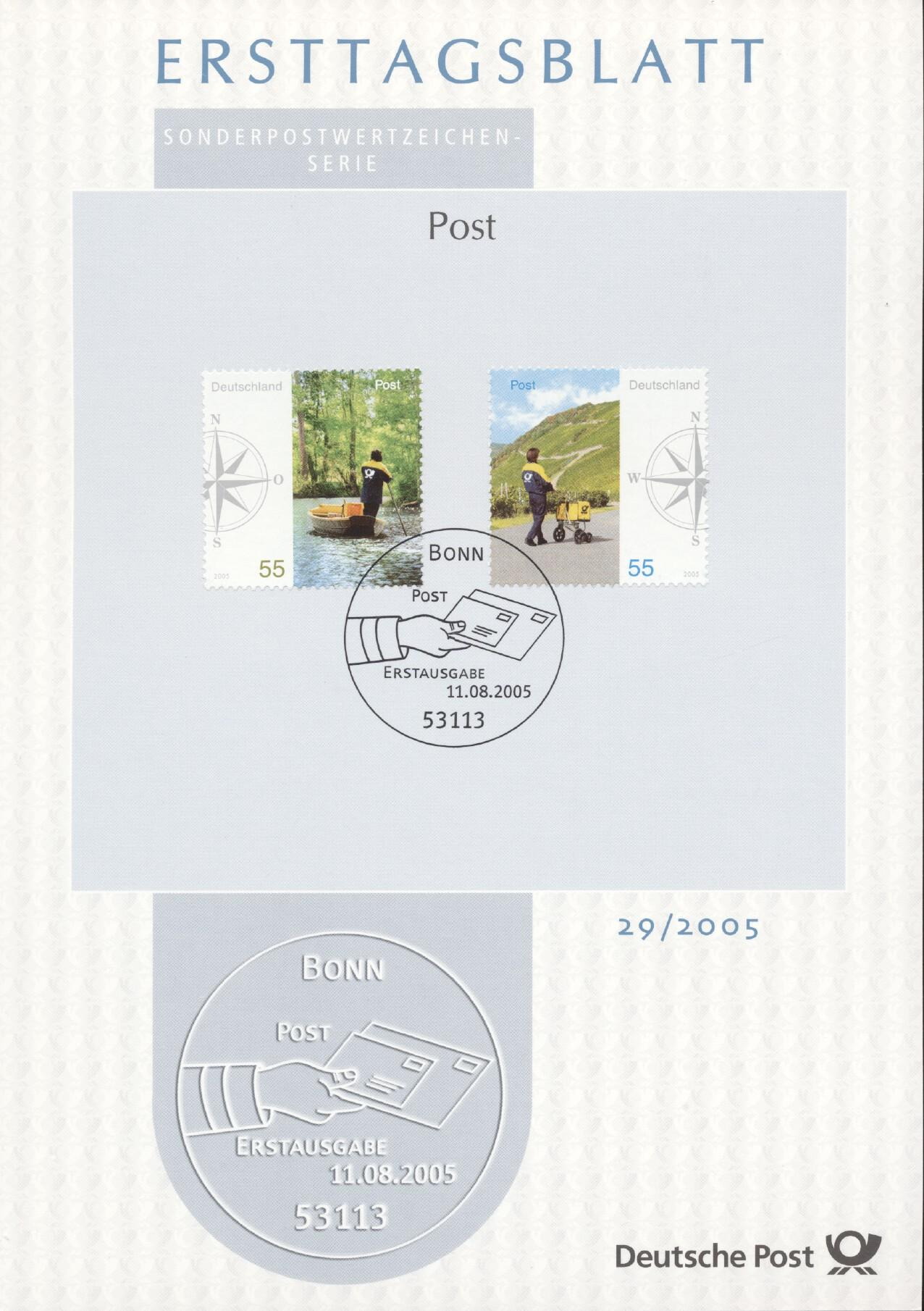 Stamps with Postal Service from Germany (image for product #240240)