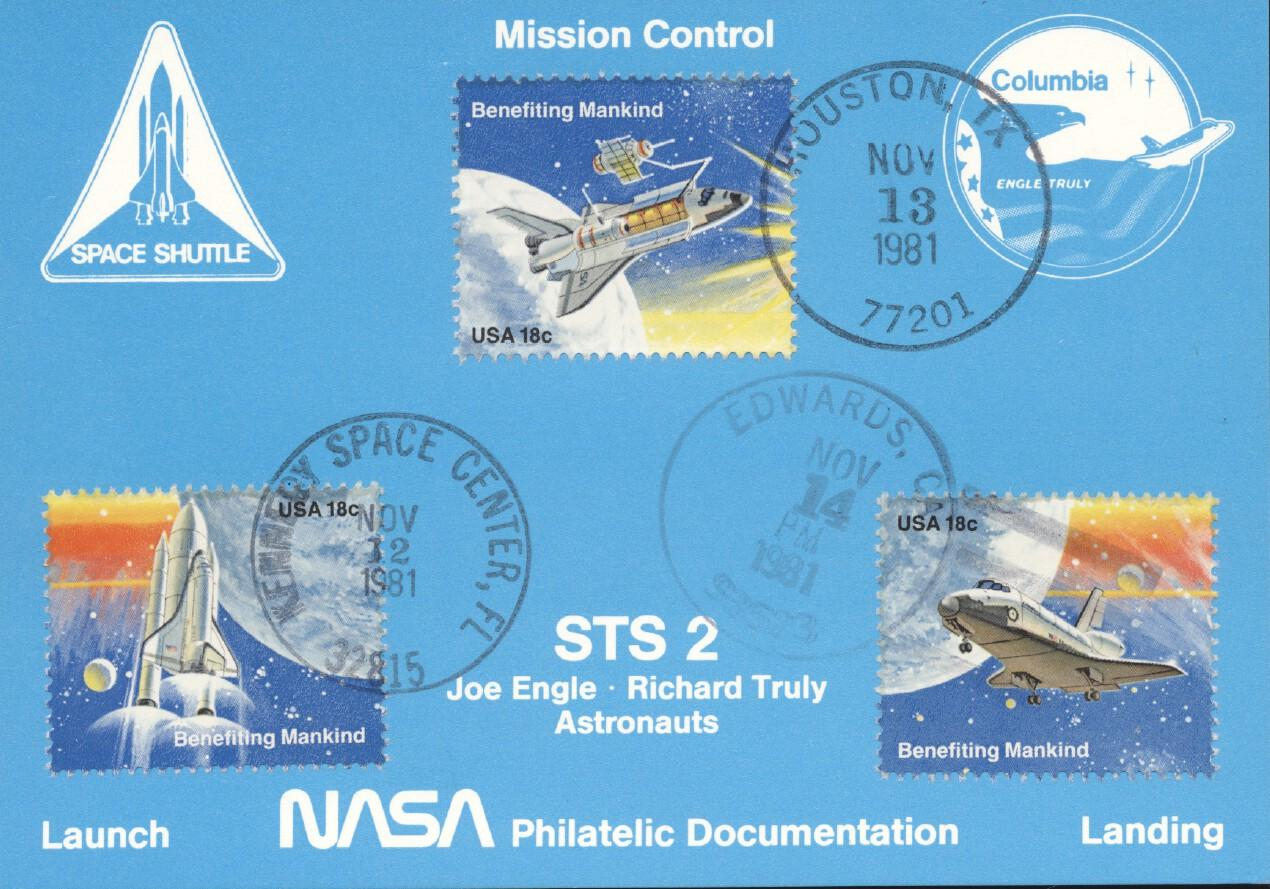 Stamps with Space from USA (United States) (image for product #240911)
