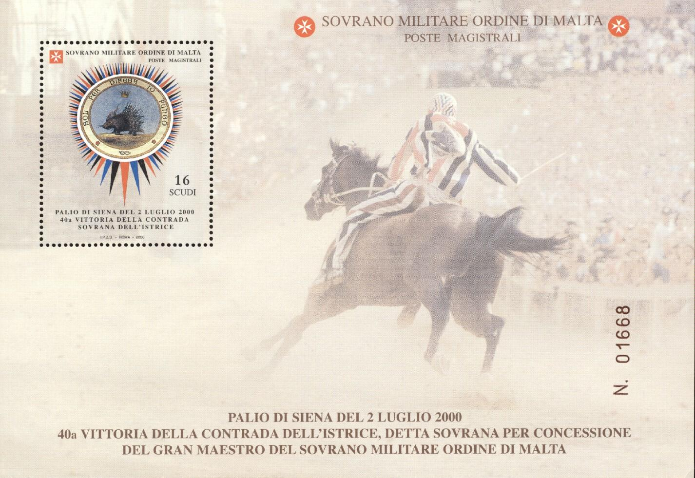 Stamps with Horse, Porcupine from Malta (image for product #244182)