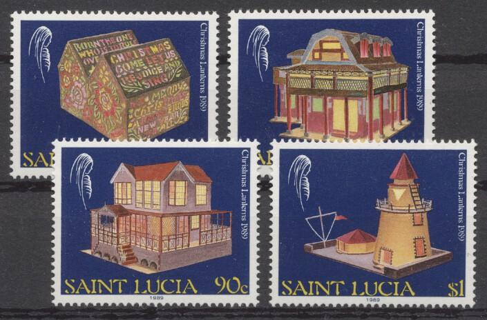 Stamps with Christmas from St. Lucia (image for product #246956)