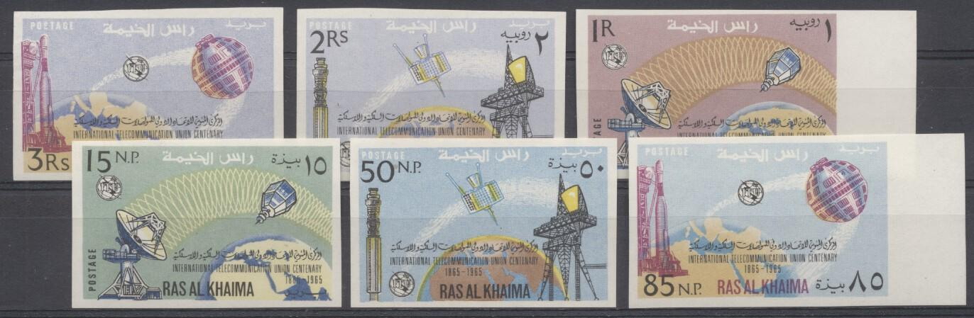 Stamps with Space from Ras al Khaima (image for product #246994)