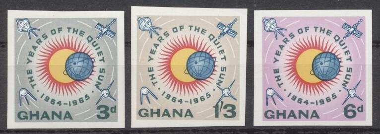 Stamps with Space from Ghana (image for product #247035)
