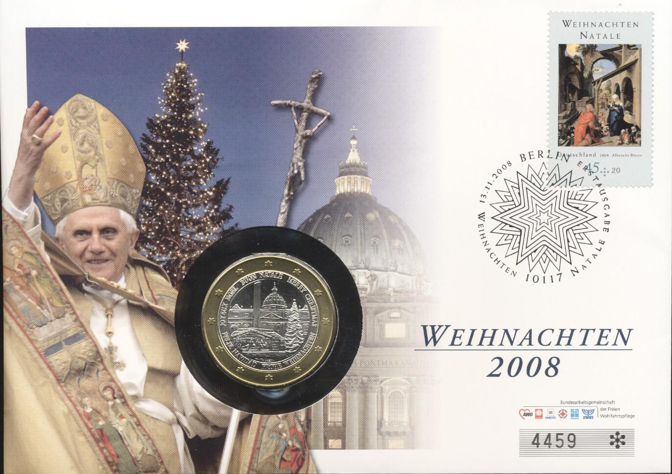 Stamps with Religion, Pope from Germany (image for product #247907)