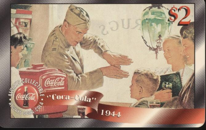 Stamps with Coca Cola from USA (United States) (image for product #247982)