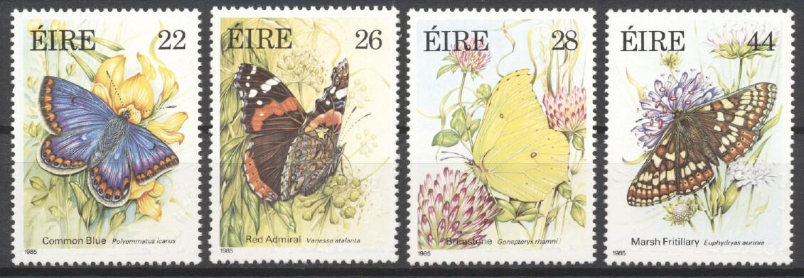 Stamps with Insects, Butterflies from Ireland (image for product #249331)