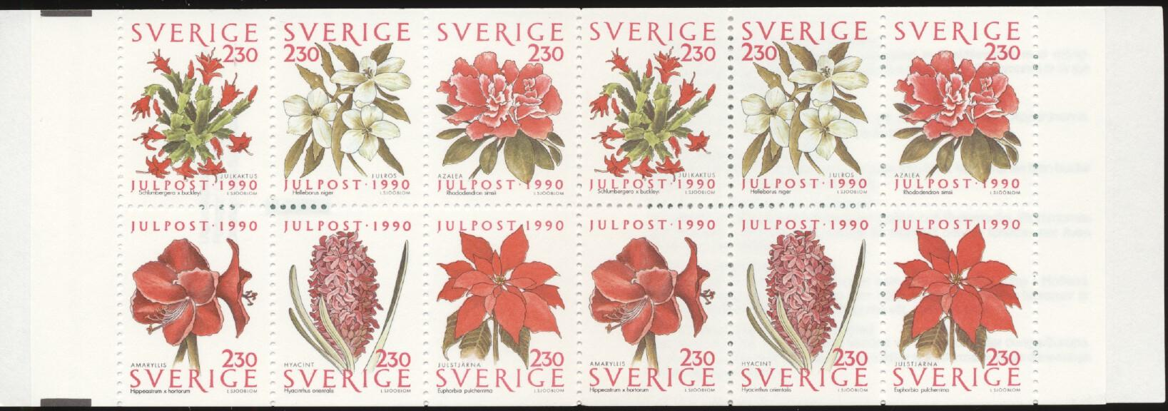 Stamps with Flowers from Sweden (image for product #250930)