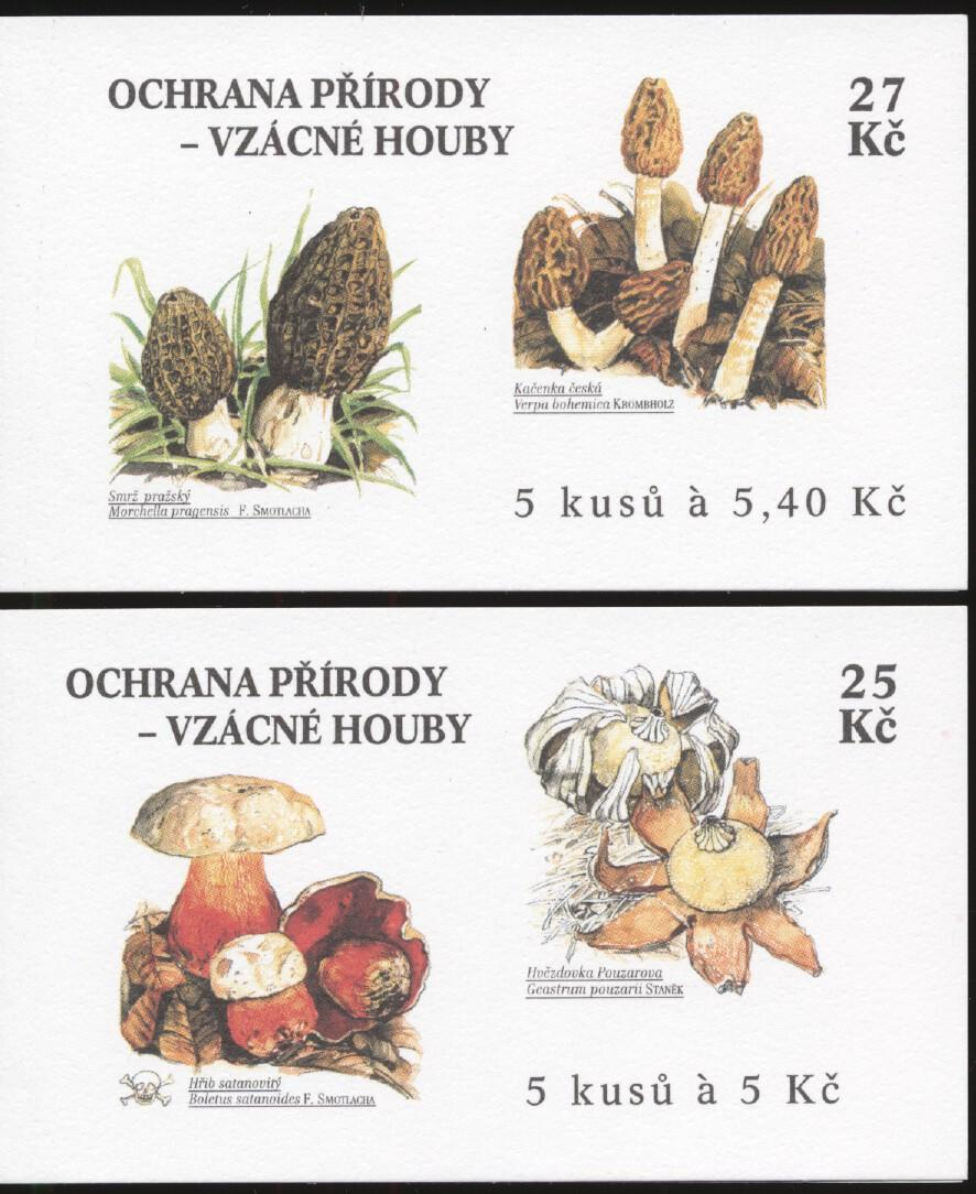 Stamps with Mushrooms from Czech Republic (image for product #250958)