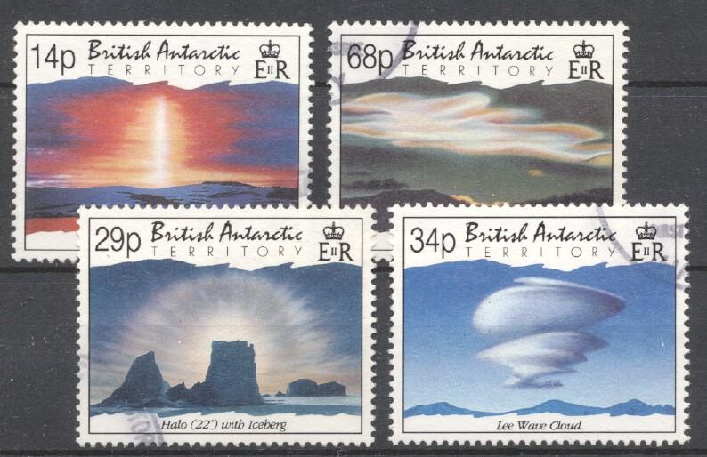 Stamps with Landscapes, Antarctics from British Antarctic Territory (image for product #253884)