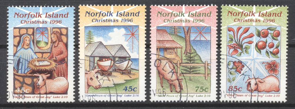 Stamps with Christmas from Norfolk Island (image for product #254086)