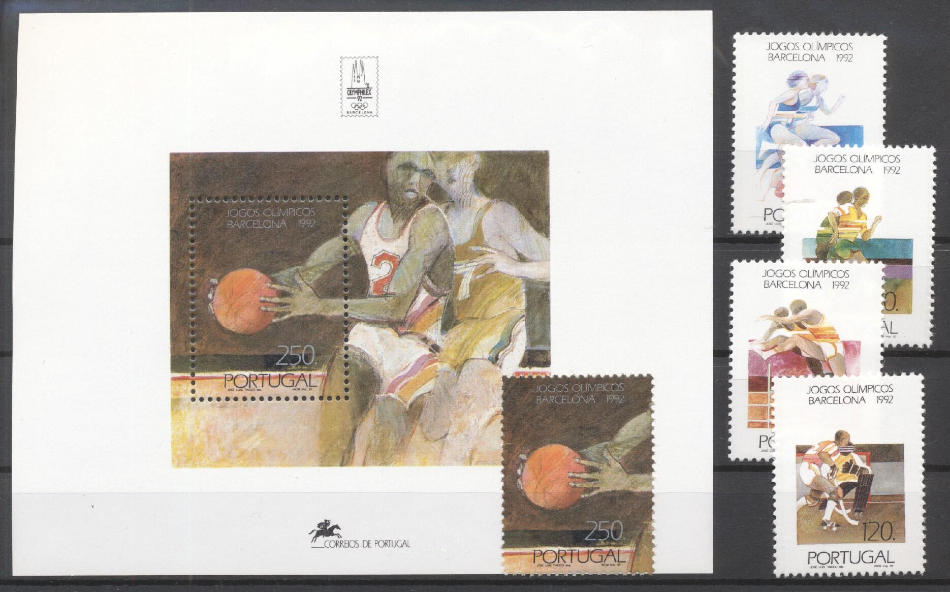 Stamps with Sports, Olympic Games from Portugal (image for product #256288)