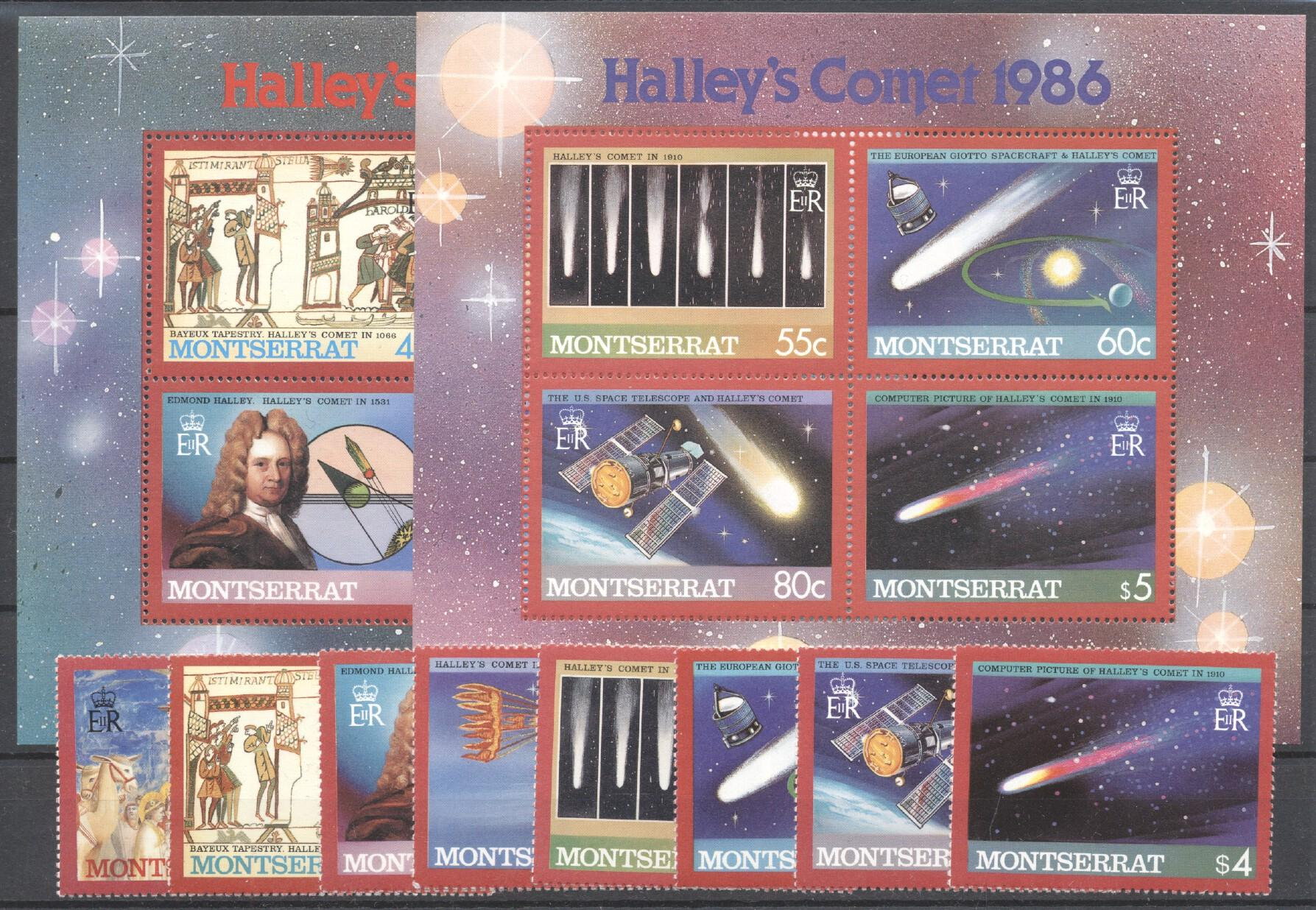 Stamps with Space from Montserrat (image for product #258876)