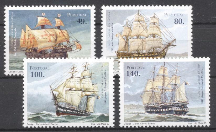 Stamps with Ship from Portugal (image for product #259170)